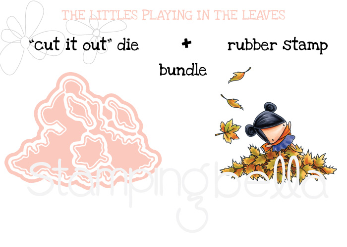 Stamping Bella SNEAK PEEK DAY 2 : THE LITTLES PLAYING IN THE LEAVES BUNDLE