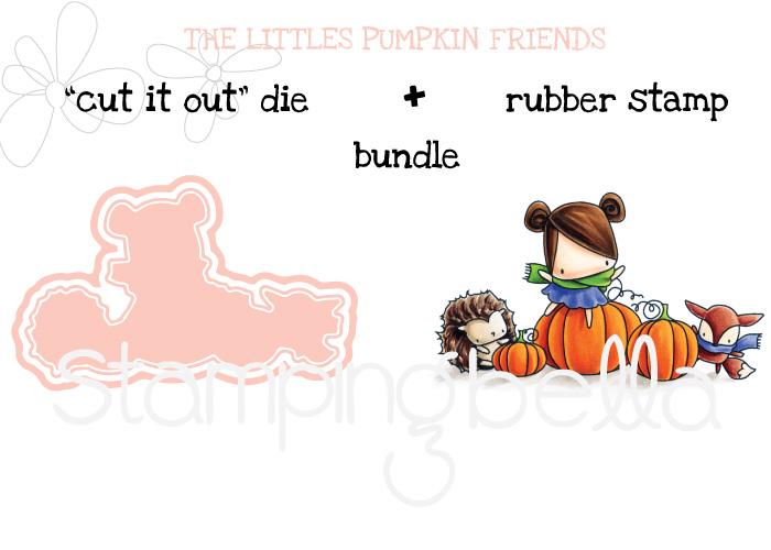 "Stamping Bella SNEAK PEEK day 4- THE LITTLES PUMPKIN FRIENDS ""BUNDLE"""