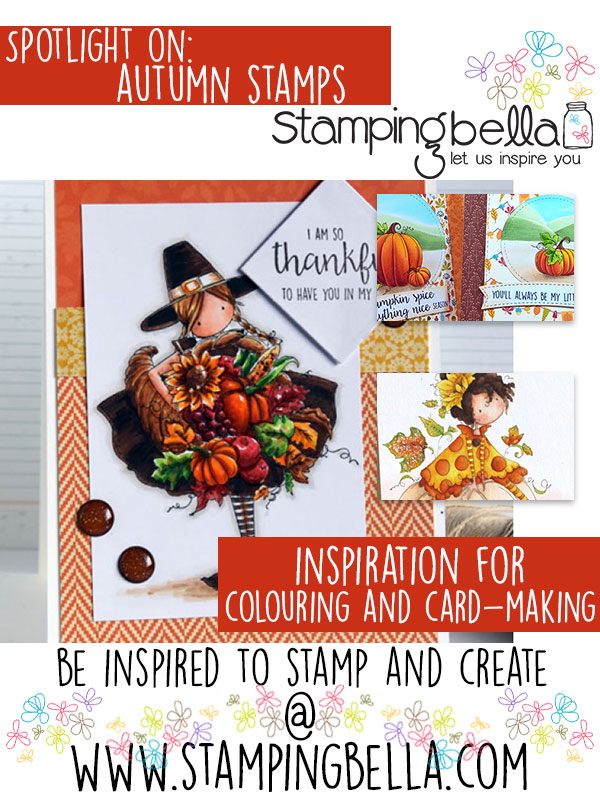 Stamping Bella Spotlight Tuesday: Autumn/Fall Stamps