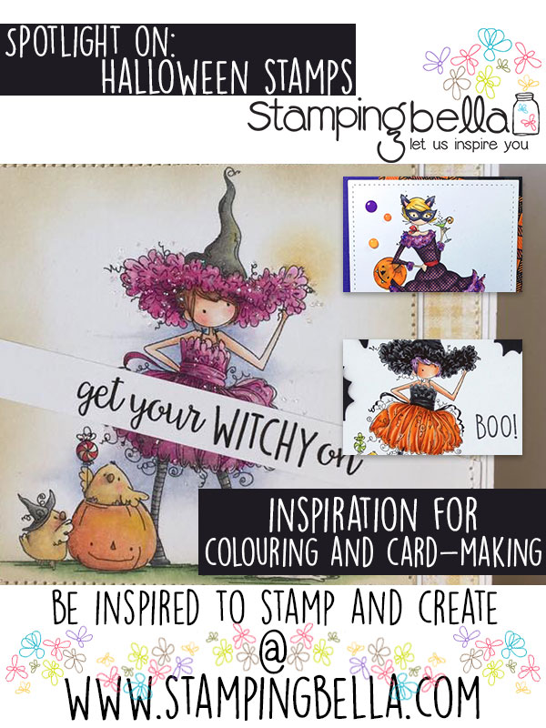Spotlight On Halloween Stamps at Stamping Bella