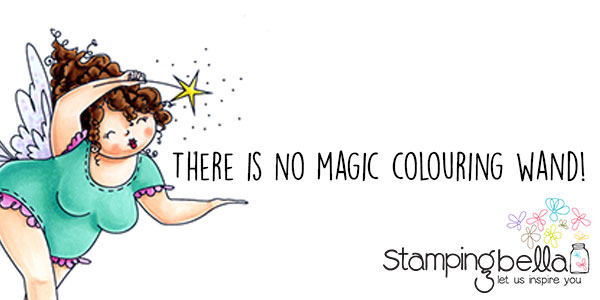 Stamping Bella - Marker Geek Monday - There Is No Magic Colouring Wand!