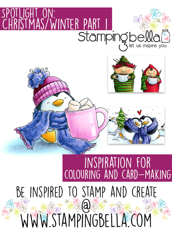 Stamping Bella Spotlight Tuesday Christmas & Winter at Stamping Bella Part One