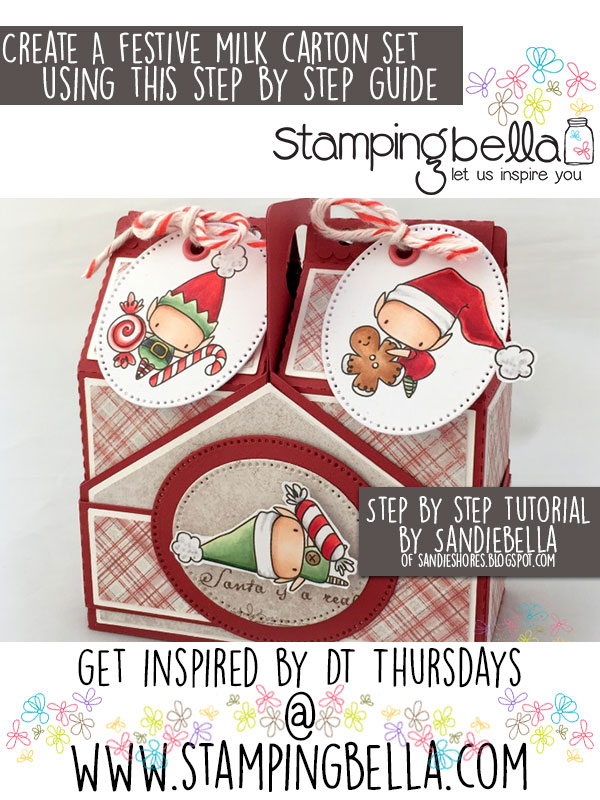 Stamping Bella DT Thursday Milk Cartons & Crate Tutorial