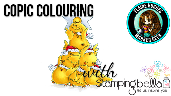 Stamping Bella Marker Geek Monday: Chick Tree Colouring Video & Some Notes on Colouring