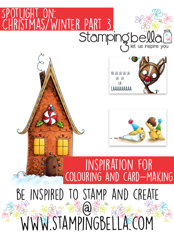 Stamping Bella Spotlight Tuesday Christmas & Winter at Stamping Bella Part Three