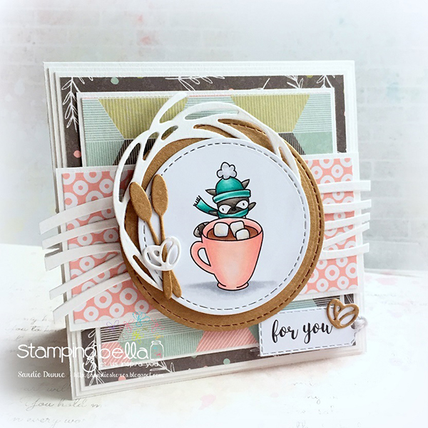 Stamping Bella DT Thursday: Create a Pop Up Gift Card Holder with Sandiebella