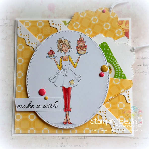 Stamping Bella DT Thursday Create a Double Pocket Card with Sandiebella