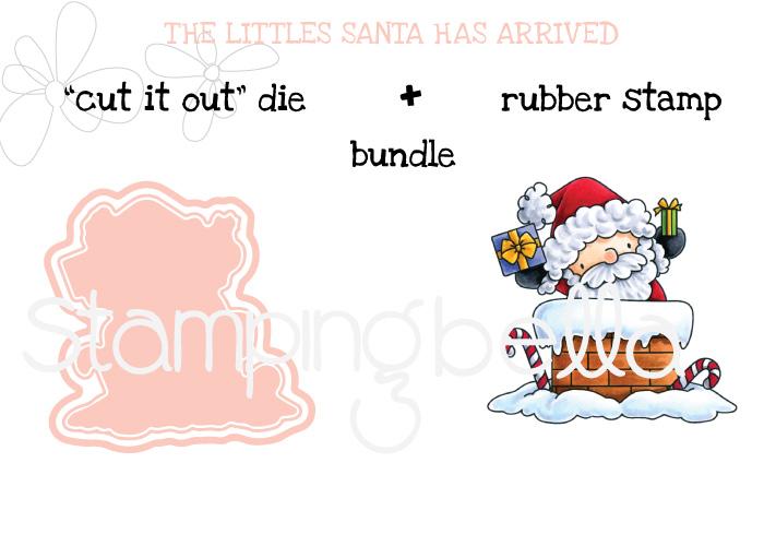 Stamping Bella BUNDLE: THE LITTLES SANTA HAS ARRIVED