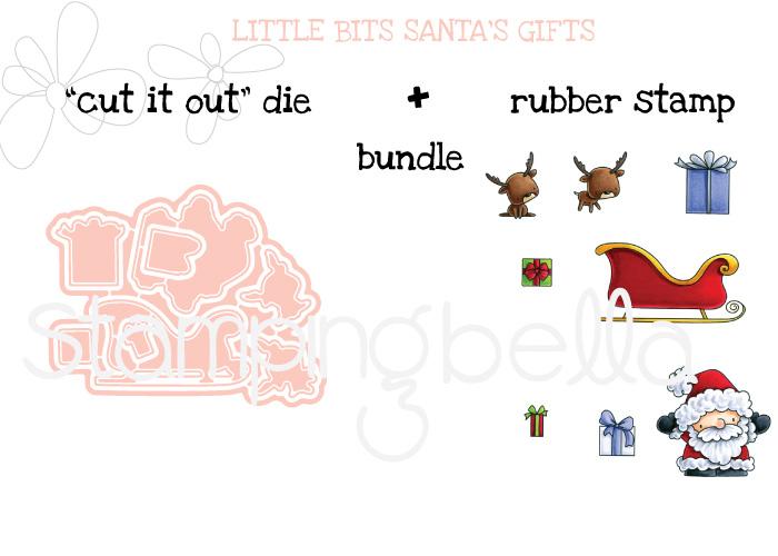 Stamping Bella BUNDLE: LITTLE BITS SLEDDING
