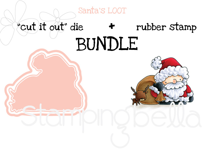www.stampingbella.com BUNDLE FEATURED: THE LITTLES SANTA'S LOOT