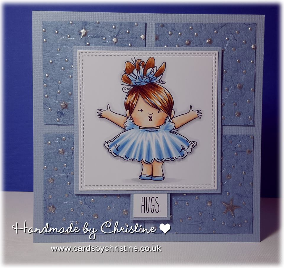 www.stampingbella.com- RUBBER STAMPS used: SMOOCHIE SQUIDGY, card made by CHRISTINE LEVISON
