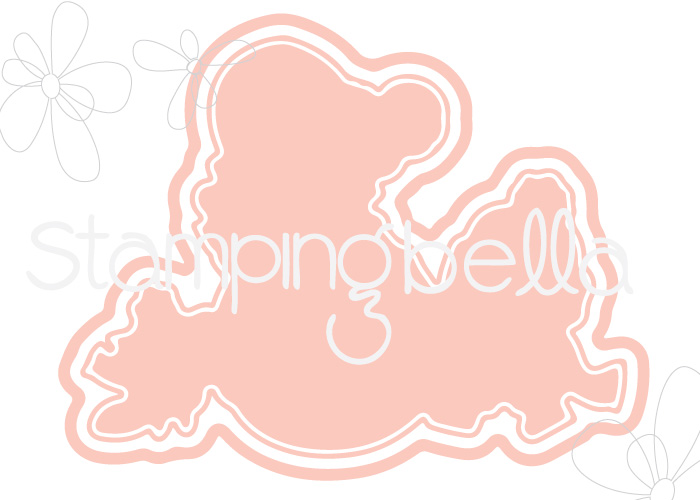 www.stampingbella.com ::CUT IT OUT DIEcalled THE LITTLES snowfight