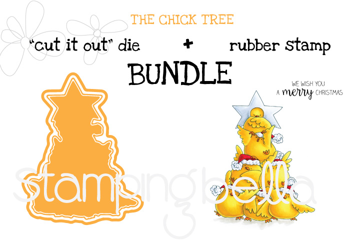 STAMPING BELLA : THE CHICK TREE BUNDLE