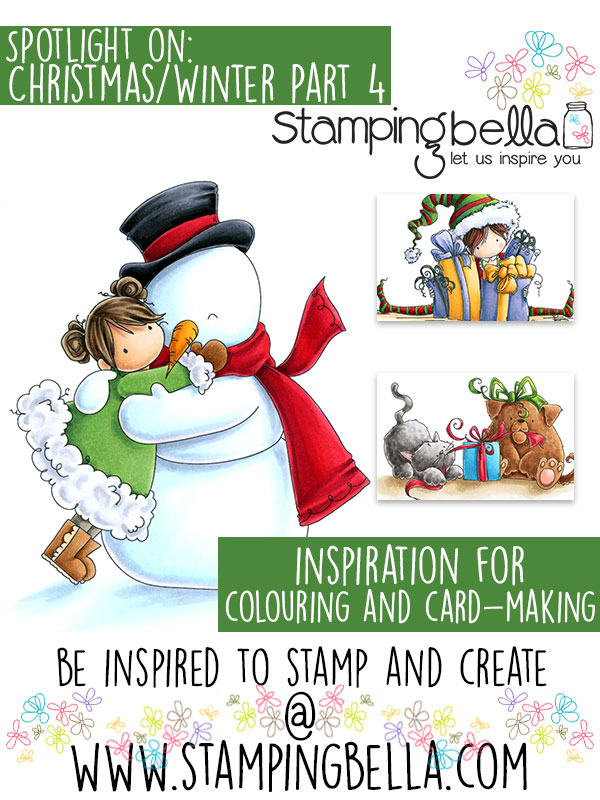 Stamping Bella Spotlight On Christmas & Winter Stamps Part 4