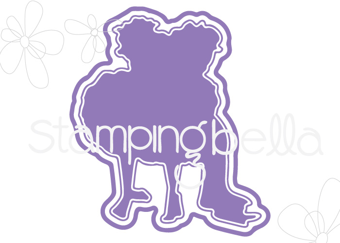 "www.stampingbella.com: ""CUT IT OUT"" DIE : TINY TOWNIE HUGGY FRIENDS"