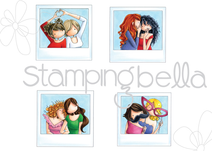 www.stampingbella.com: RUBBER STAMP: SNAPSHOT MINIS