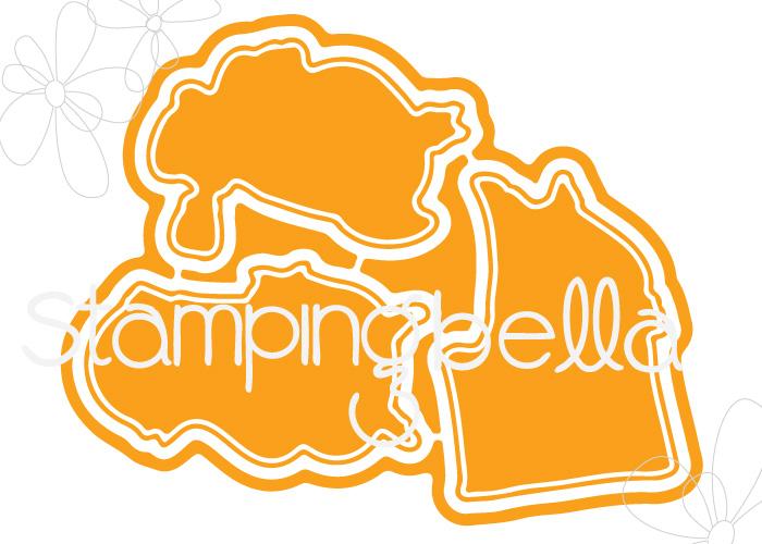 www.stampingbella.com: CUT IT OUT DIE : VALENTINE CHICKS