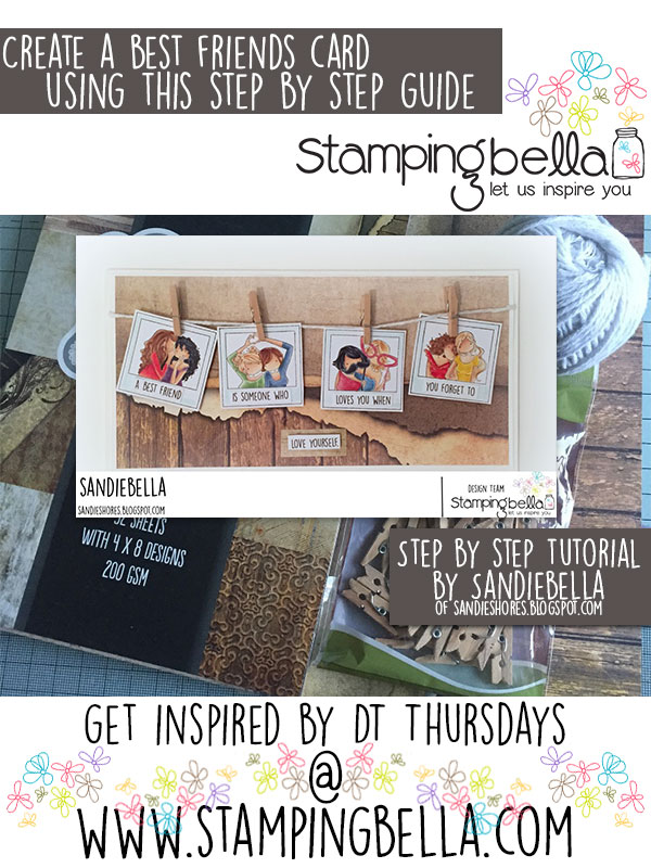 Stamping Bella DT Thursday Best Friends Snapshot Card
