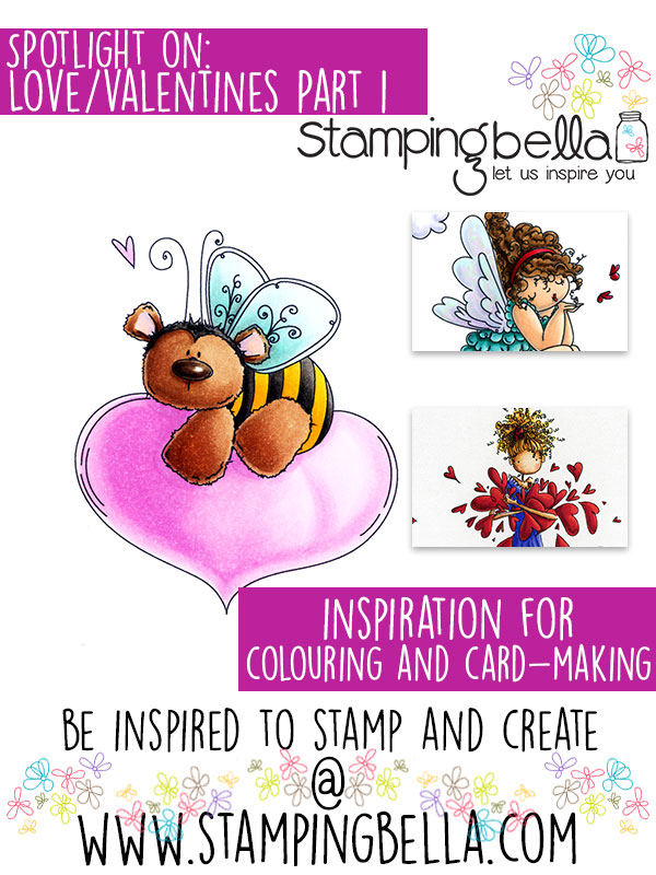 Stamping Bella Spotlight Tuesday Love/Valentines Part 1