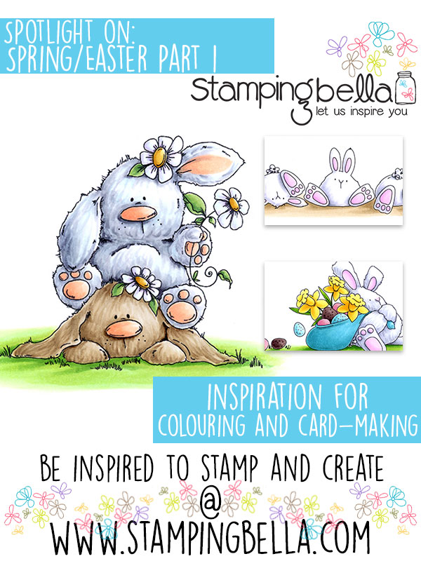 Stamping Bella Spotlight Tuesday Spring & Easter Part 1