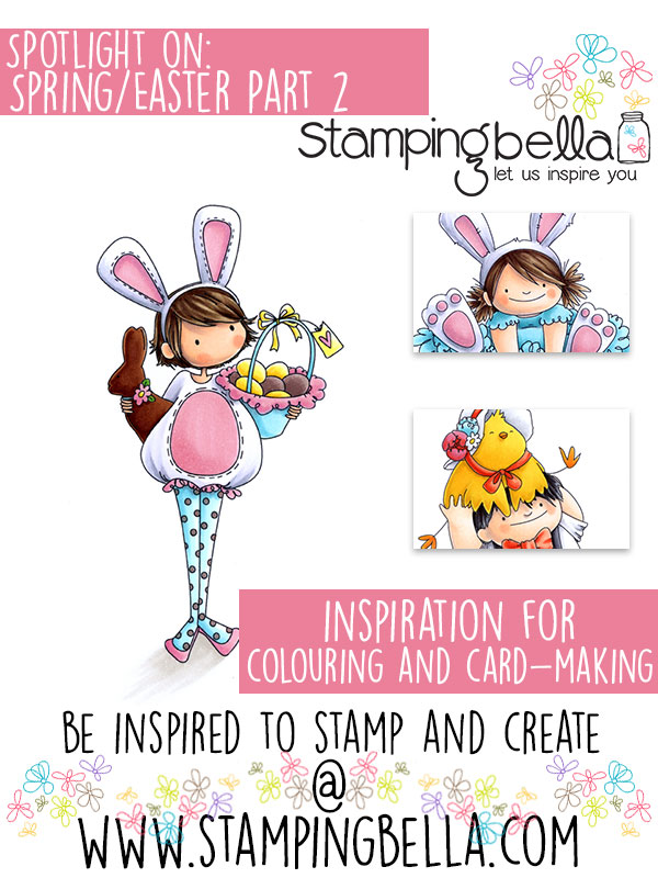 Stamping Bella Spotlight Tuesday Spring & Easter Part 2