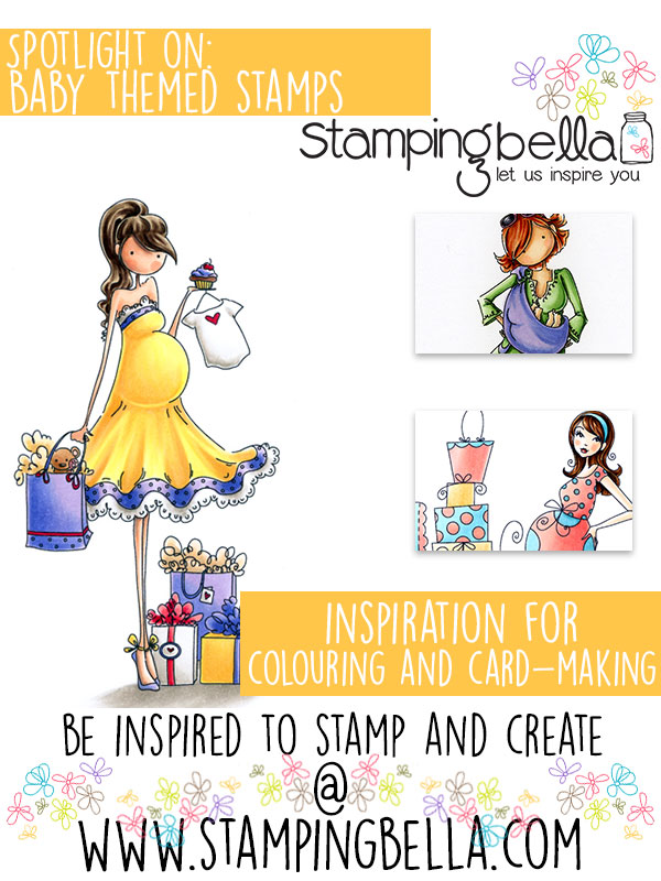 Stamping Bella Spotlight On Baby Themed Stamps!