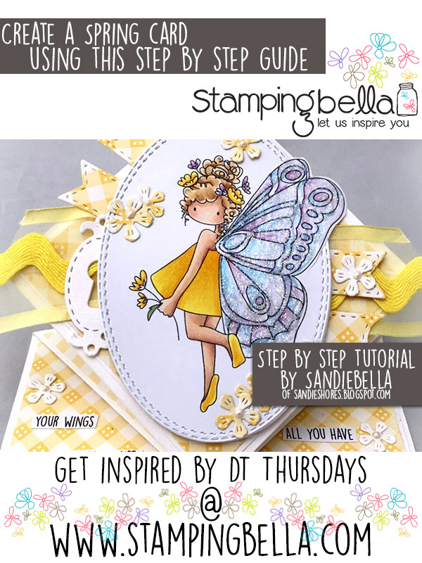 Stamping Bella DT Thursday: Create a Spring Card with Sandiebella