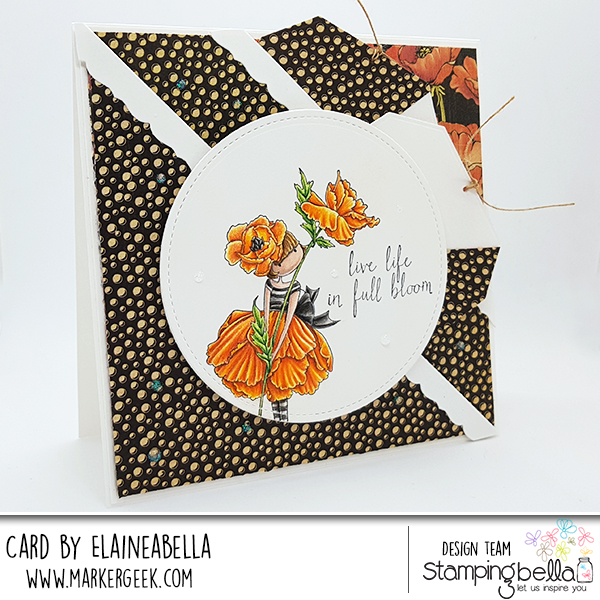 Stamping Bella DT Thursday Creating a Double Pocket Card with Video