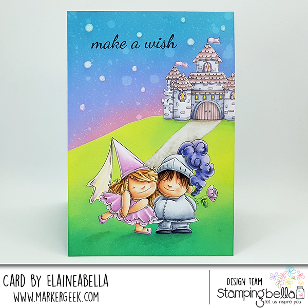 Stamping Bella Stamp it Saturday: Fairy Tale Twist & Pop Card with Video