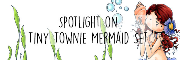 Stamping Bella Spotlight On Tiny Townie Mermaid Stamp Set