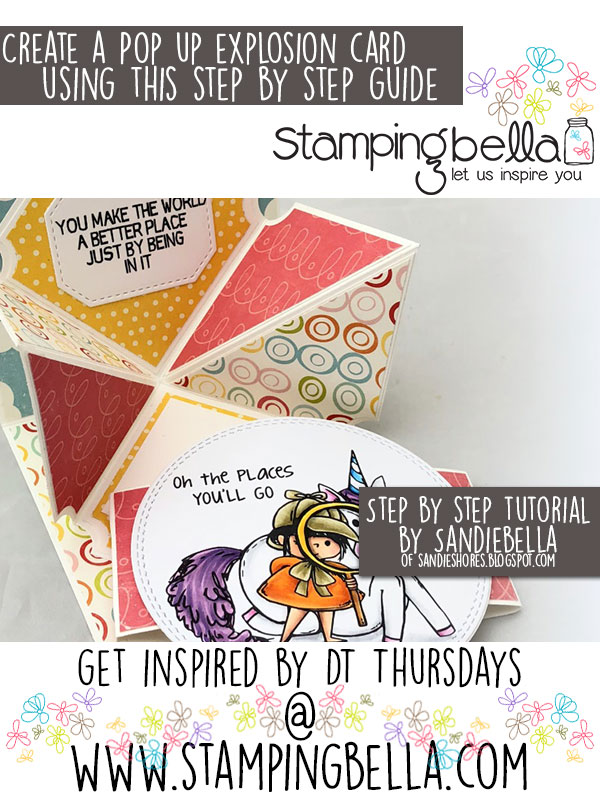 Stamping Bella DT Thursday Pop Up Explosion Card