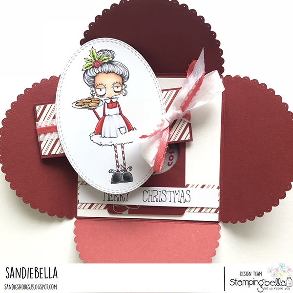 Stamping Bella DT Thursday Create a Petal Card with Sandiebella!