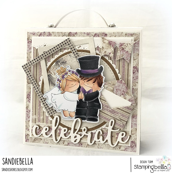 Stamping Bella DT Thursday: Create a Squidgy Wedding Purse Album with Sandiebella!