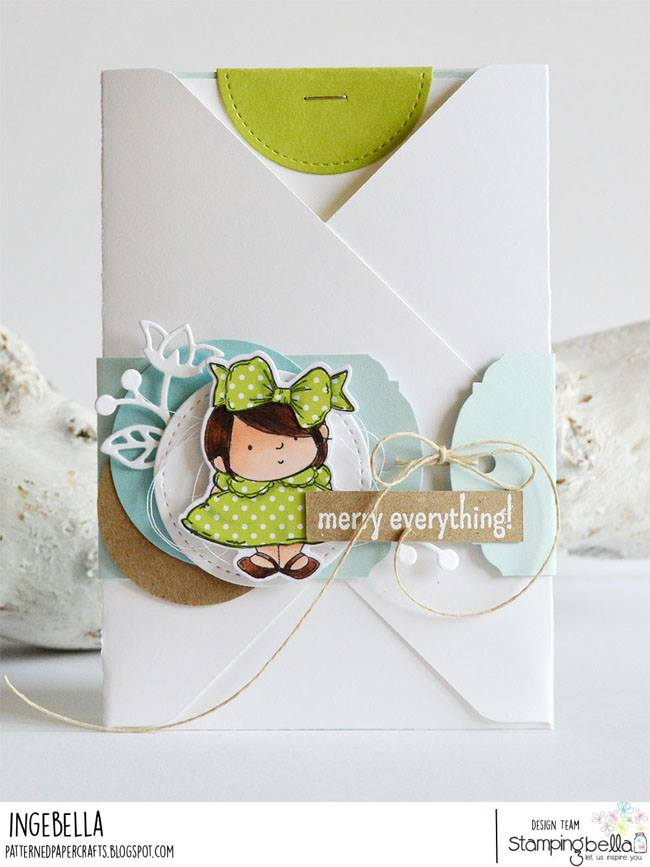 www.stampingbella.com.  RUBBER STAMP SQUIDGY PALS.  CARD BY Inge Groot