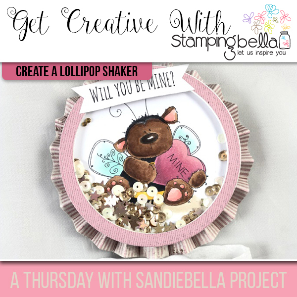 Stamping Bella: Thursday with Sandiebella Create a Lollipop Shaker