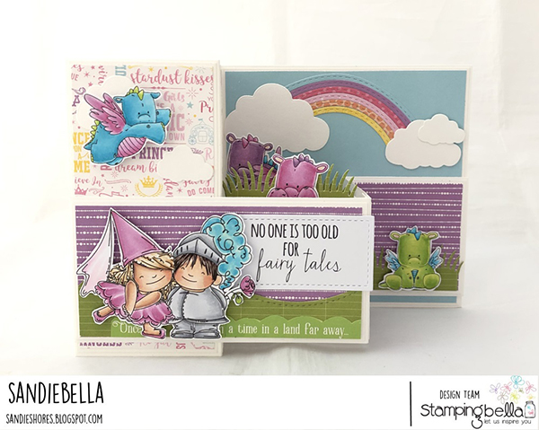 Stamping Bella: Thursday with Sandiebella - Create a Fairytale Pop Up Card