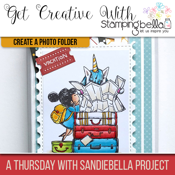 Stamping Bella: Thursday with Sandiebella - Create a Vacation Photo Folder