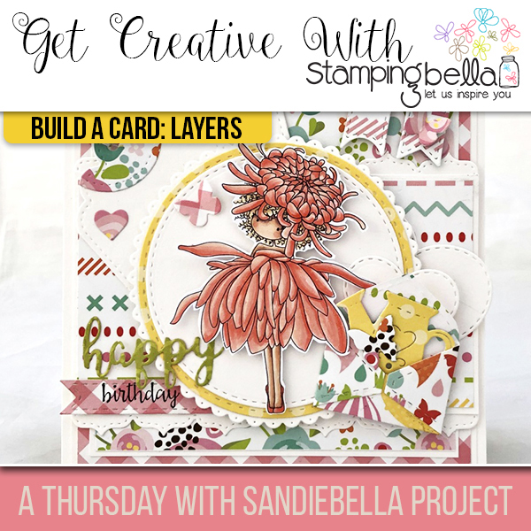 Stamping Bella: Thursday with Sandiebella - Build a Card Layers