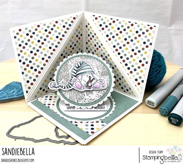 Stamping Bella: Thursday with Sandiebella - Create a Corner Pop Up Card