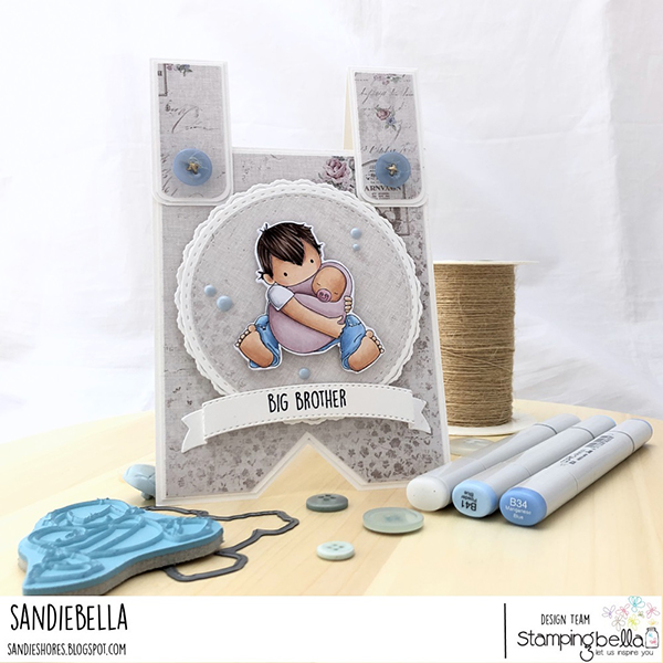 Stamping Bella: Thursday with Sandiebella - Create a Big Brother Jumper Card