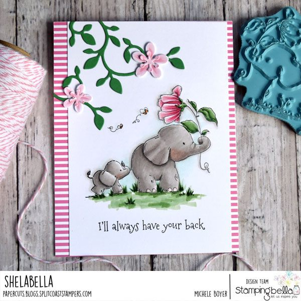 www.stampingbella.com: rubber stamp used I'll Always have your back STUFFIES   Card by Michele Boyer