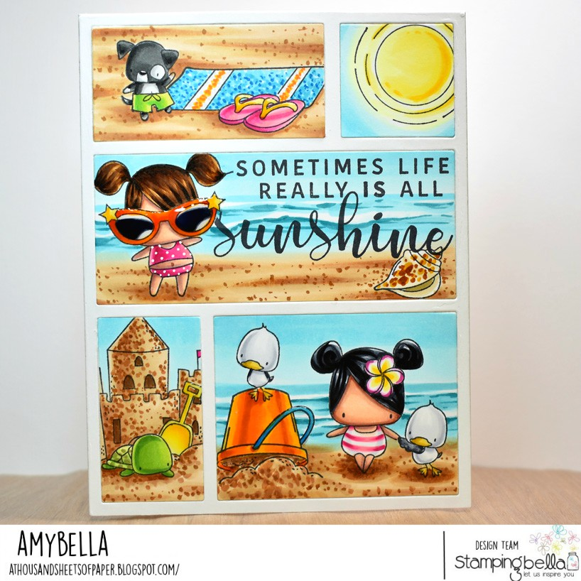 www.stampingbella.com. Card by AMY Young