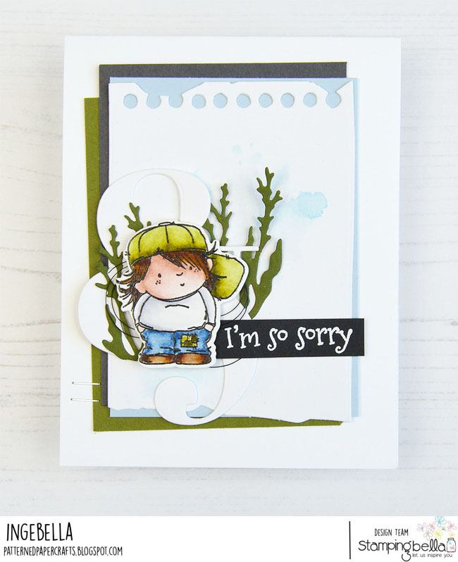 xwww.stampingbella.com: rubber stamp used SQUIDGY PALS   Card by Inge Groot