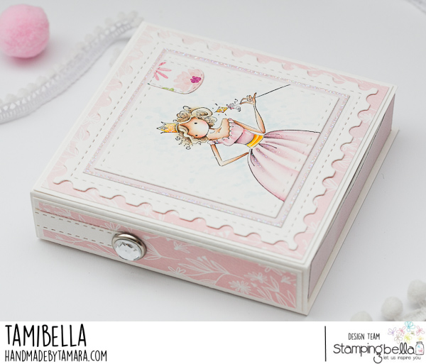 www.stampingbella.com: RUBBER STAMP USED: UPTOWN GIRL FAITH THE FAIRY.. project by Tamara potocnik