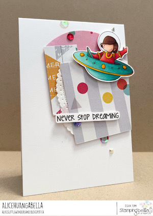 www.stampingbella.com: RUBBER STAMP USED: TINY TOWNIE ASTRONAUTS card by Alice Huang