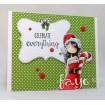 Uptown girl CHRYSTAL'S Christmas Label