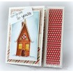 gingerbread HOUSE (includes 2 rubber stamps)