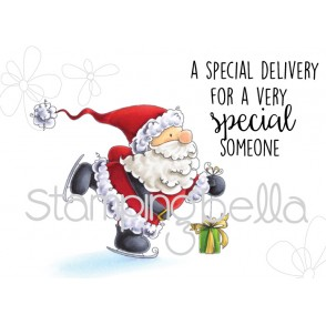 Santa's SPEEDY DELIVERY (includes 2 rubber stamps)