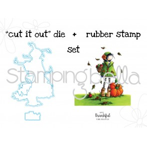 "tiny townie FAY LOVES FALL ""CUT IT OUT"" + STAMP BUNDLE"