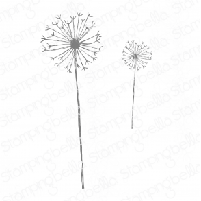 DANIELLE DONALDSON TUMBLEBLOSSOMS COLLECTION BLOSSOM #10 RUBBER STAMP